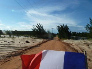 Piste en sable, on s'enfonce !